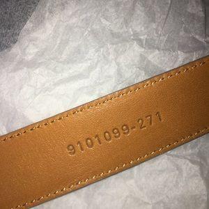 Lauren Ralph Lauren Accessories - Lauren Ralph Lauren Camel Color Leather Belt